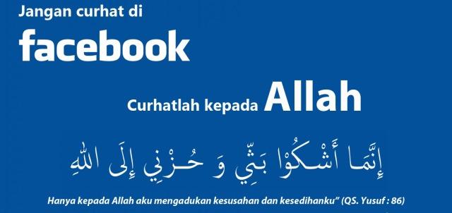 jangan curhat di facebook