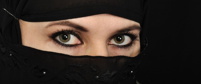 Wanita Muslimah Bercadar - Arab Woman In Hijab HD Wallpaper (18)