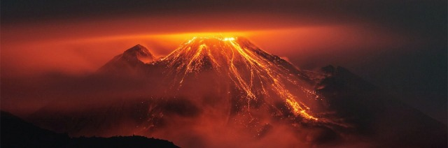 Nature_Volcano_Volcano_Eruption_Lava_Landscape_Mountain_Night_36756