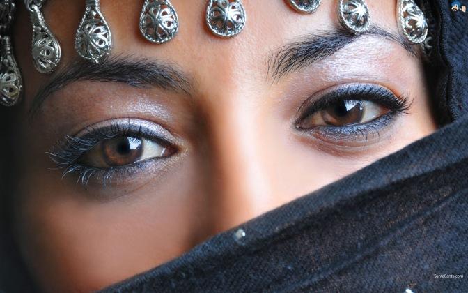 Wanita Muslimah Bercadar - Arab Woman In Hijab HD Wallpaper (14)