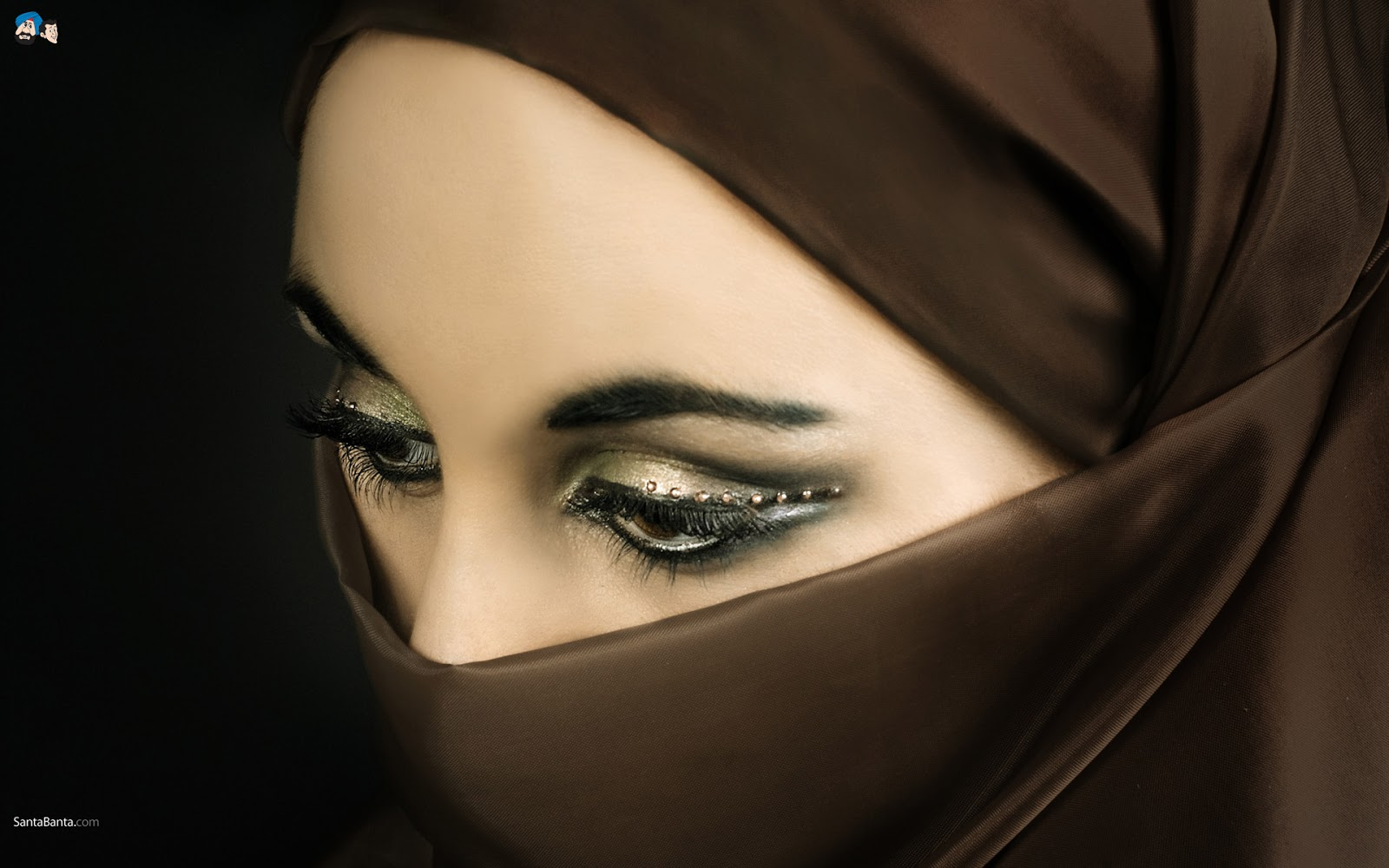 wanita muslimah bercadar arab woman in hijab hd wallpaper 1